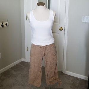Cotton Capri Pants Women Size 12